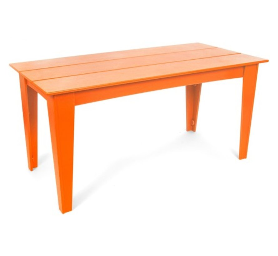 ALFRESCO 95 X 36 TABLE SUNSET ORANGE