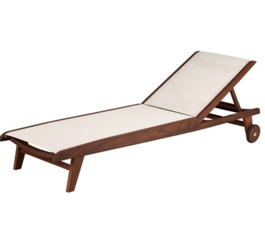TOPAZ SLING CHAISE LOUNGE - NATURAL SLING