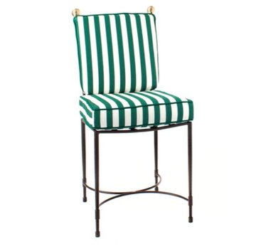 AMALFI LIVING SIDE CHAIR LARGE IN EPOXY COATED STEEL