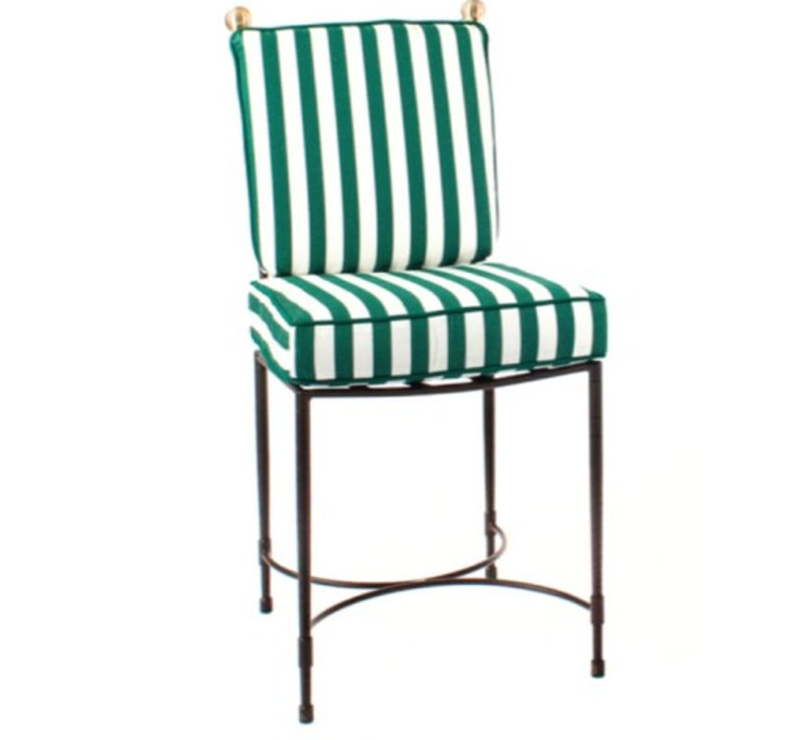 SIDE CHAIR LARGE IN EPOXY COATED STEEL