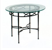 AMALFI LIVING 20 INCH ROUND SIDE TABLE
