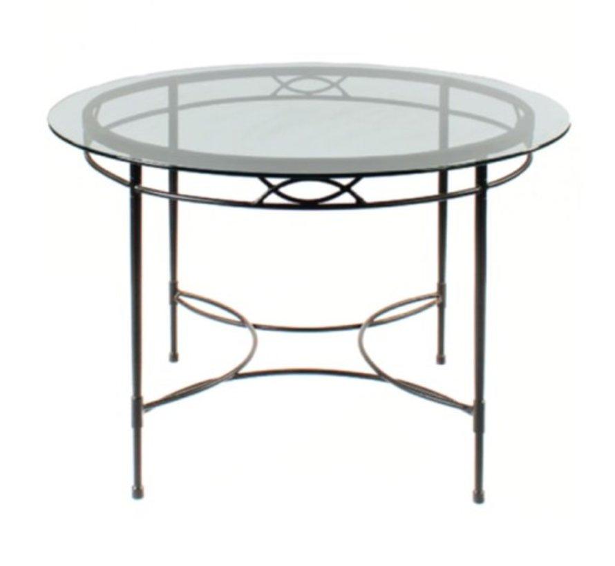 AMALFI 36 INCH ROUND DINING TABLE BASE
