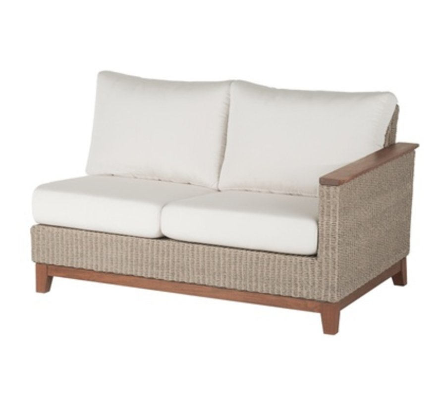 CORAL SECTIONAL LEFT SEAT