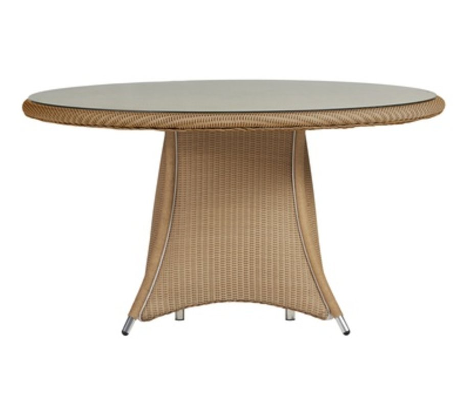 GENERATIONS 54 INCH DINING TABLE WITH LAY ON GLASS