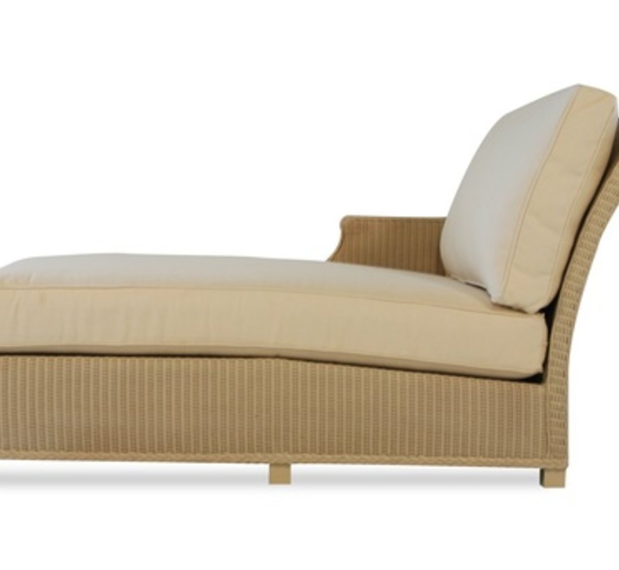HAMPTONS RIGHT ARM CHAISE WITH GRADE B FABRIC / SELF WELT