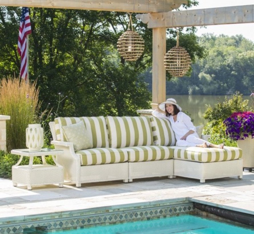 HAMPTONS ARMLESS SECTIONAL WITH GRADE A FABRIC / SELF WELT