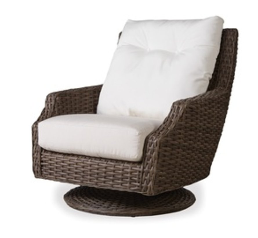 LARGO HIGH BACK SWIVEL ROCKER WITH GRADE C FABRIC / NO WELT