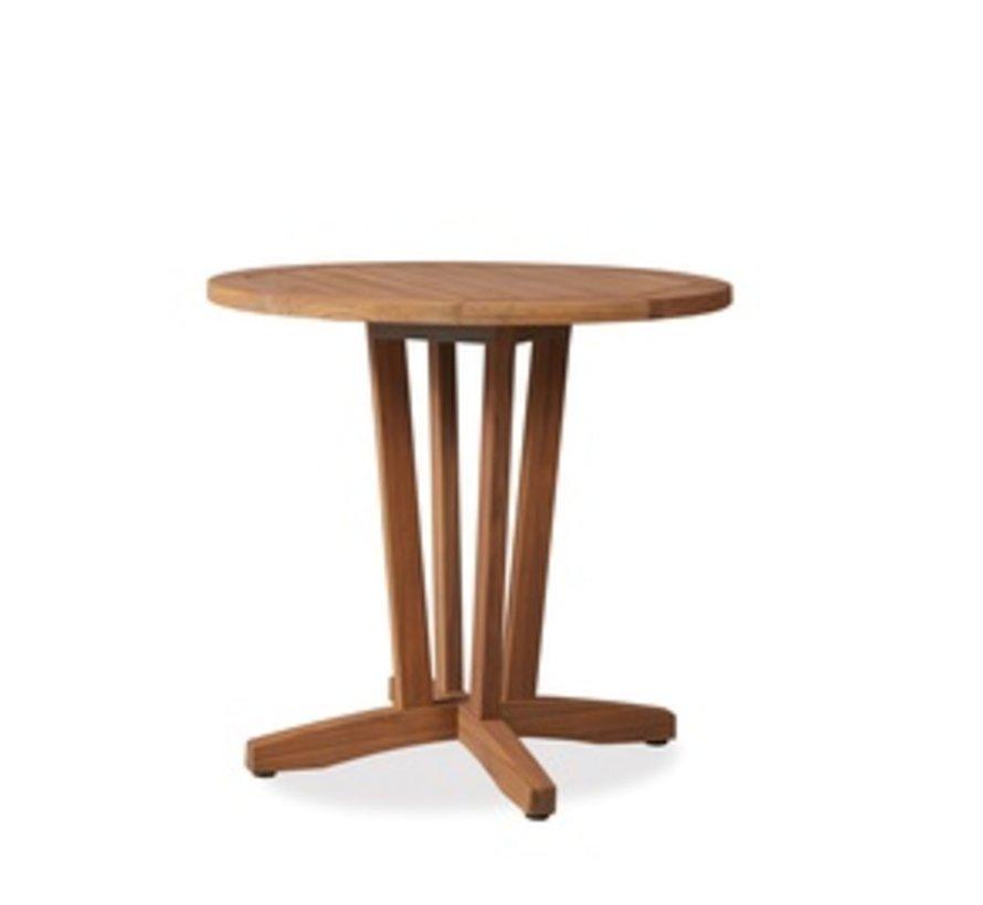 TEAK 30 INCH ROUND BISTRO TABLE