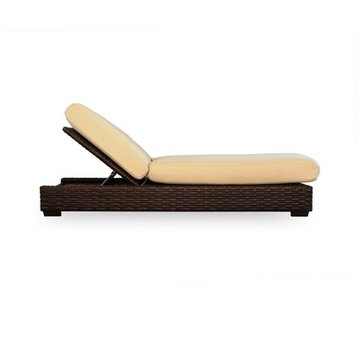 LLOYD FLANDERS CONTEMPO POOL CHAISE WITH GRADE A FABRIC / NO WELT