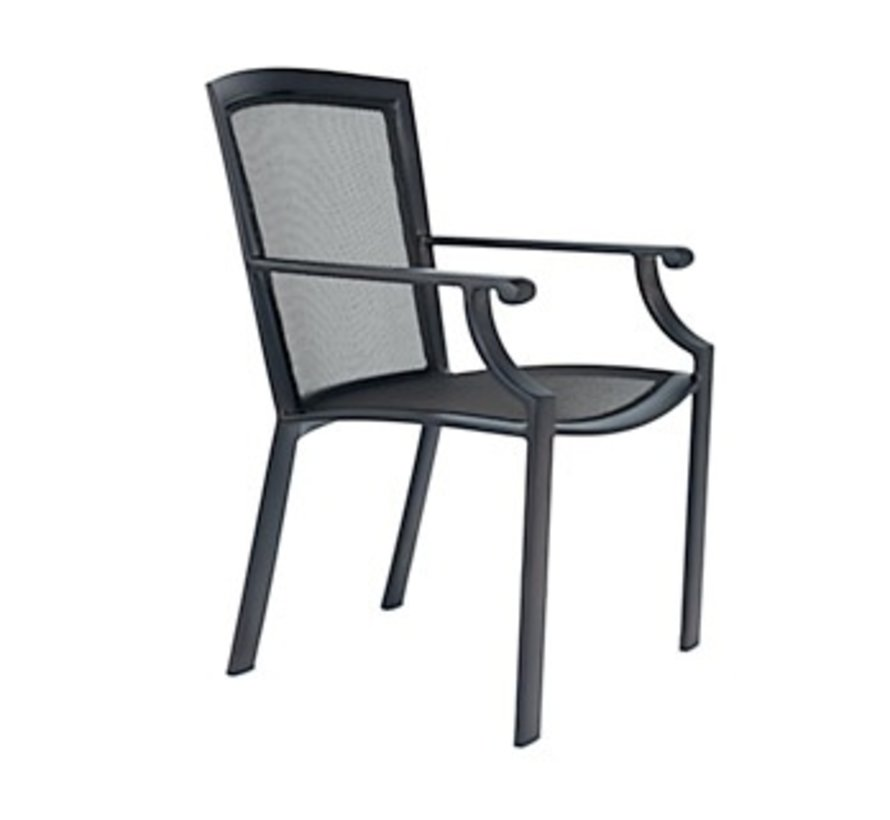 COAST DINING ARM CHAIR - PARABOLIC SLING