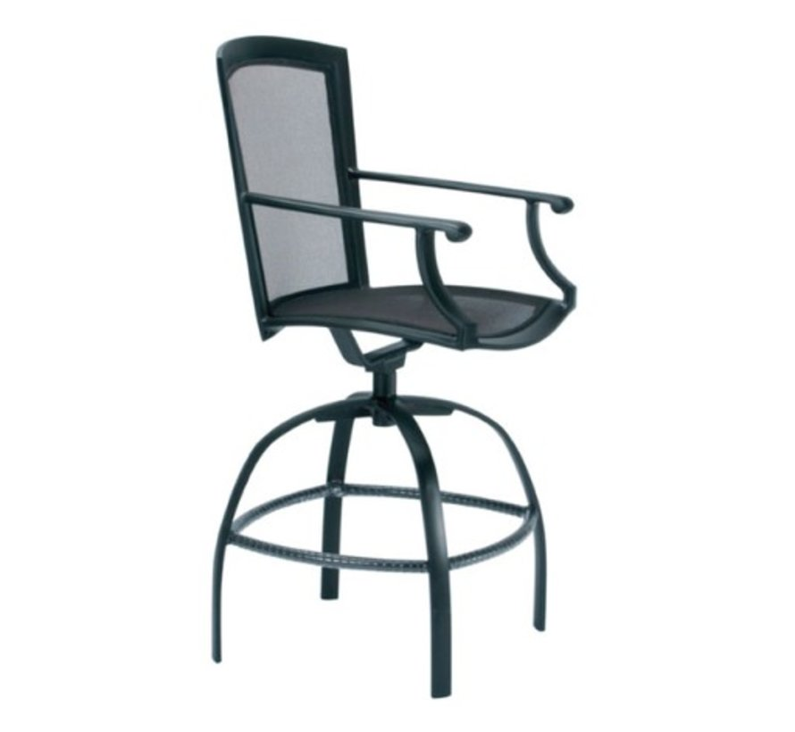 COAST SWIVEL BAR CHAIR WITH ARMS - PARABOLIC SLING