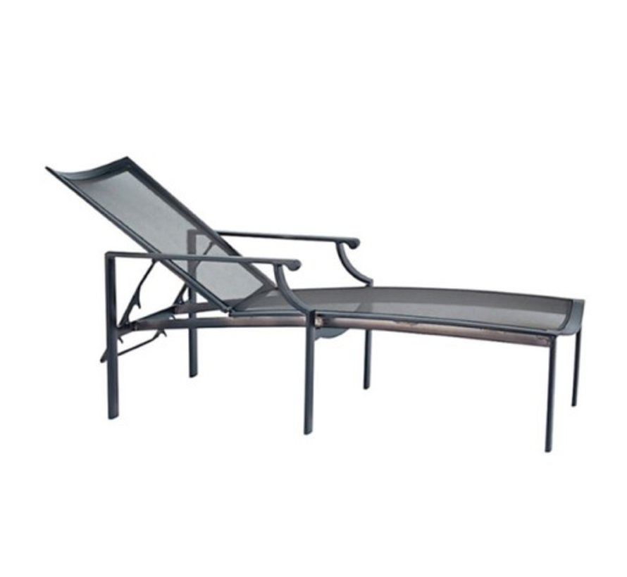 COAST ADJUSTABLE CHAISE WITH PARABOLIC SLING