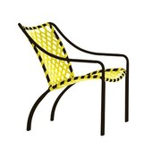 BROWN JORDAN TAMIAMI LOUNGE CHAIR WITH VINYL LACE