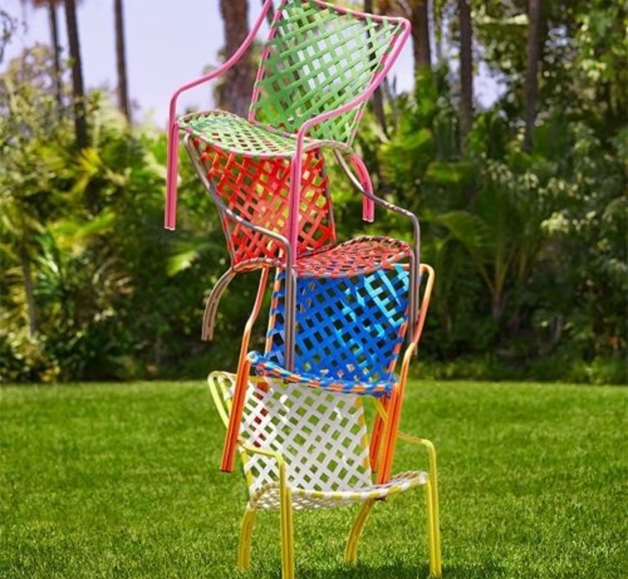 TAMIAMI LOUNGE CHAIR WITH VINYL LACE