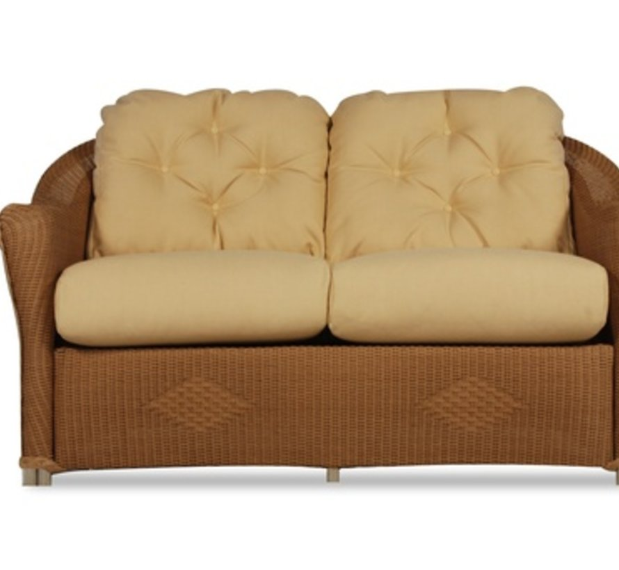 REFLECTIONS LOVE SEAT WITH GRADE A FABRIC