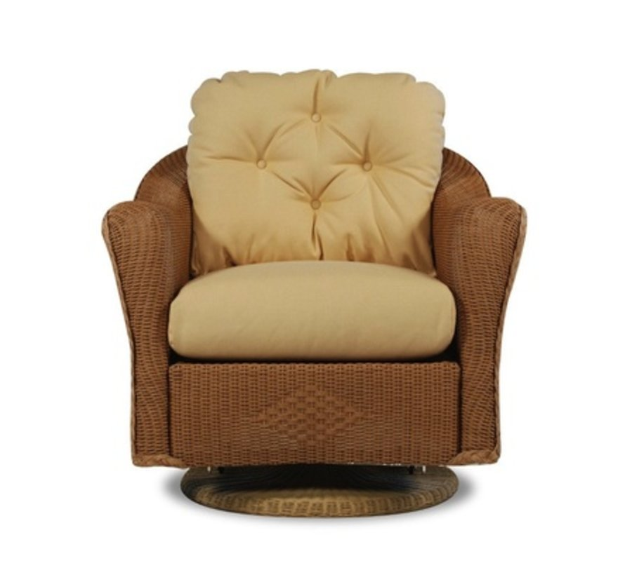 REFLECTIONS SWIVEL GLIDER LOUNGE CHAIR WITH GRADE D FABRIC