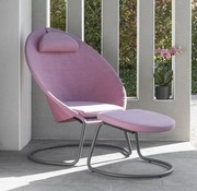 COCOON LOUNGE CHAIR / ORCHID