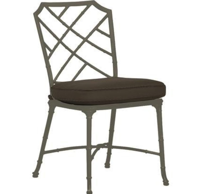 CALCUTTA SIDE CHAIR WITH GRADE A FABRIC