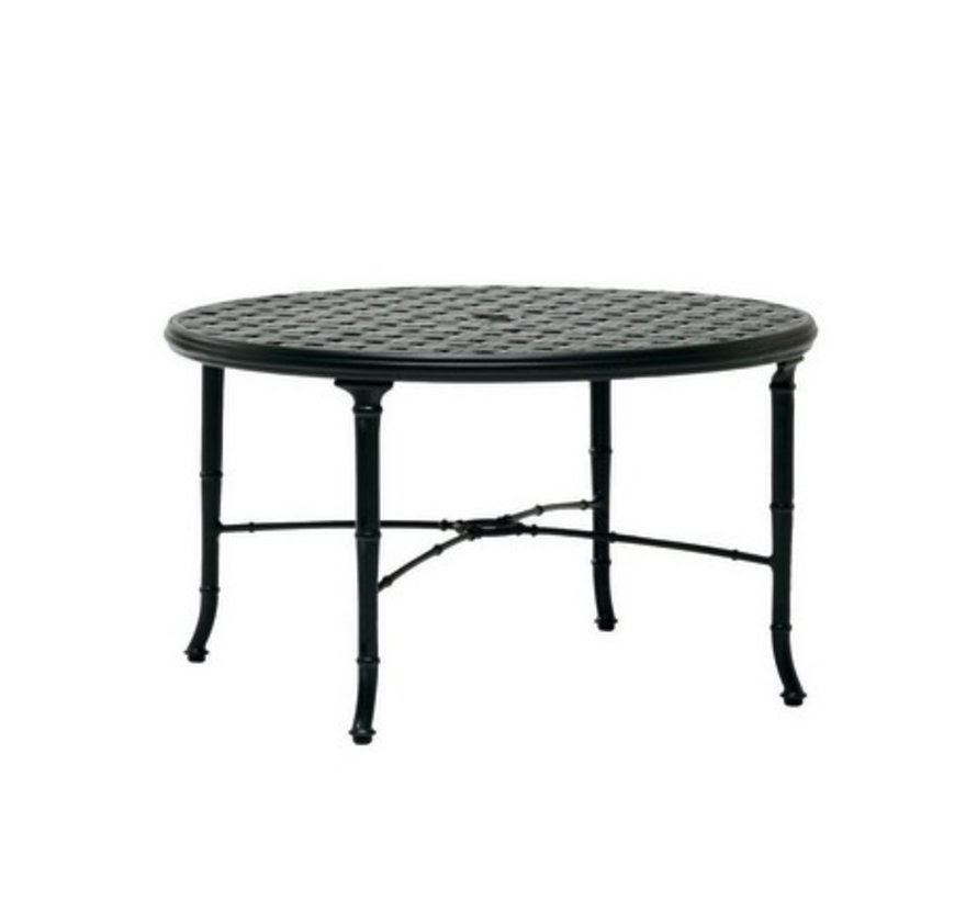 CALCUTTA 36 INCH CAST ALUMINUM ROUND DINING TABLE