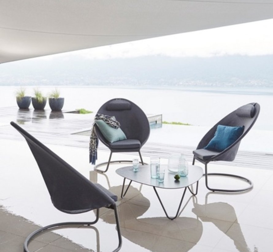 COCOON LOW TABLE / VOLCANIC