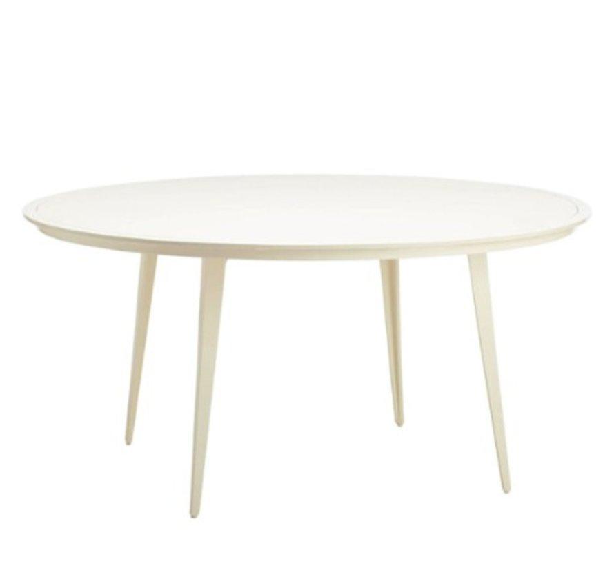 Miraculous Brown Jordan Still 60 Round Dining Table Interior Design Ideas Clesiryabchikinfo