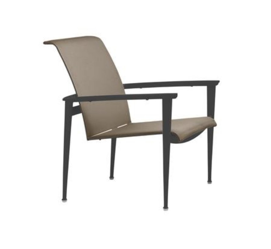 FLIGHT STACKING LOUNGE CHAIR WITH GRADE A SLING