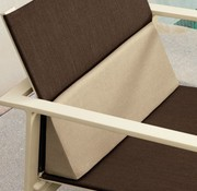BROWN JORDAN SWIM ARM CHAIR BACK CUSHION IN GRADE A FABRIC