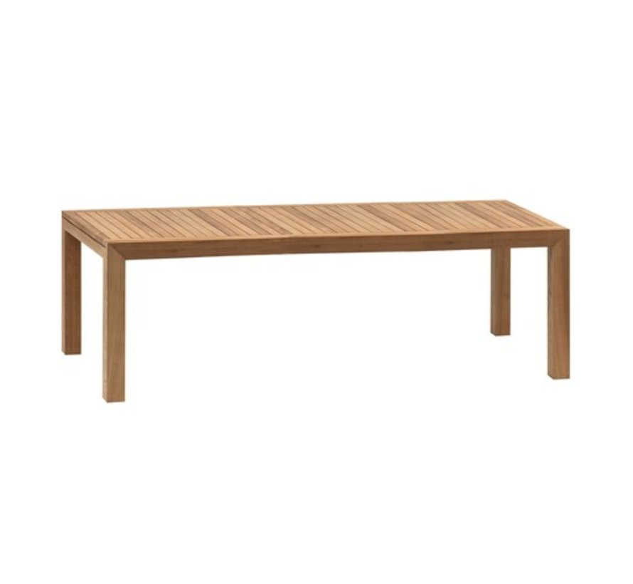 IXIT 102x43 INCH TEAK DINING TABLE