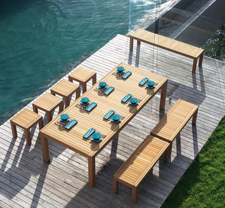 IXIT TEAK STOOL/SIDE TABLE