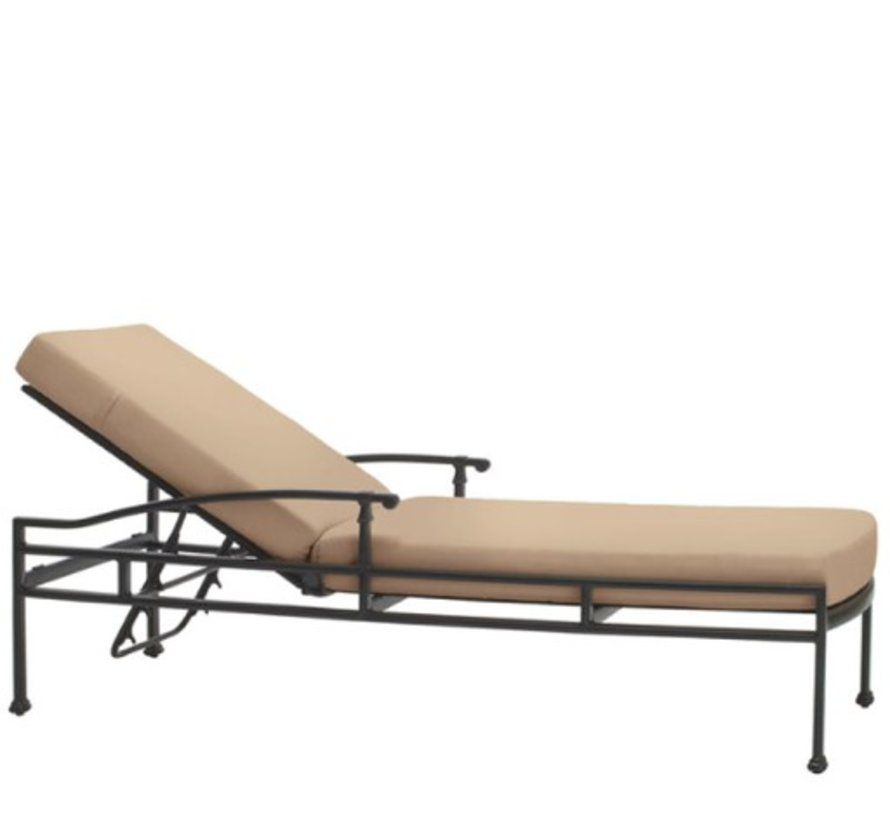 FREMONT ADJUSTABLE CHAISE WITH GRADE A FABRIC