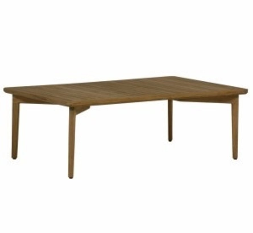 WOODLAWN 48x30 COFFEE TABLE IN NATURAL TEAK