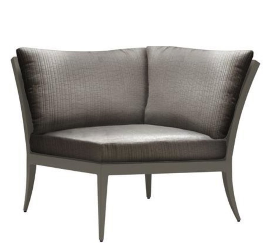 LUNA CORNER SECTIONAL WITH LOOSE CUSHIONS IN GRADE A FABRIC