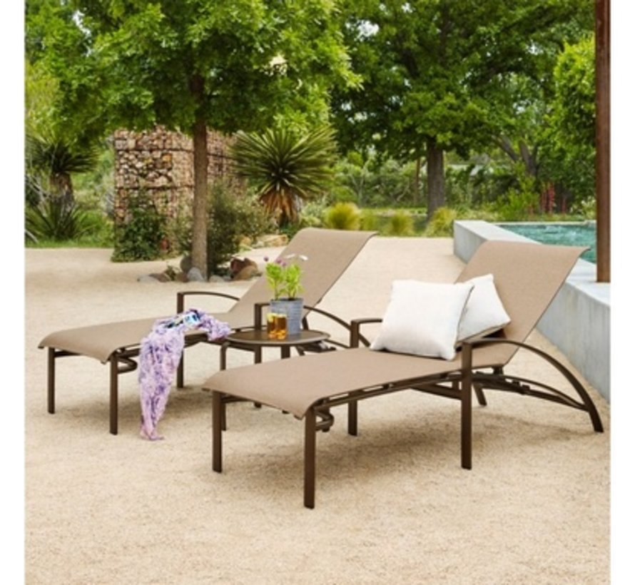 PASADENA SLING ADJUSTABLE CHAISE LOUNGE / GRADE A