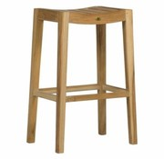 SUMMER CLASSICS VIVIAN BAR STOOL - NATURAL TEAK