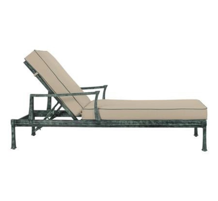 HAREWOOD CHAISE W/ LOOSE CUSHIONS - GRADE A
