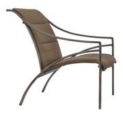 BROWN JORDAN PASADENA PADDED SLING LOUNGE CHAIR WITH GRADE A SLING