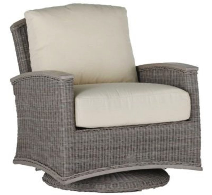 ASTORIA SWIVEL GLIDER - OYSTER WEAVE