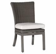 SUMMER CLASSICS RUSTIC SIDE CHAIR IN SLATE GRAY