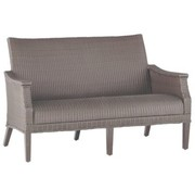 SUMMER CLASSICS BENTLEY LOVESEAT IN OYSTER WEAVE