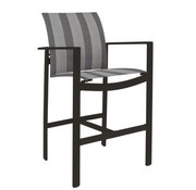 BROWN JORDAN PARKWAY SLING BAR CHAIR WITH GRADE A SLING