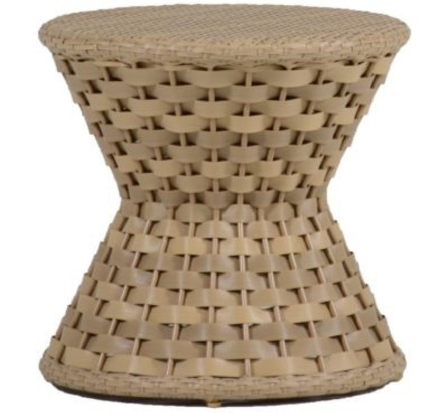 JOANNA END TABLE IN OYSTER WEAVE