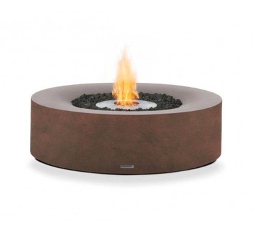 KOVE BIOETHANOL FIRE ELEMENT IN RUST COLOR