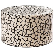 SEASONAL LIVING CERAMIC BABY CARONESS ACCENT TABLE