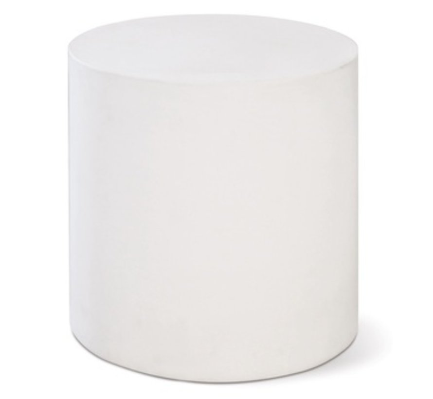 BILL ACCENT TABLE - WHITE
