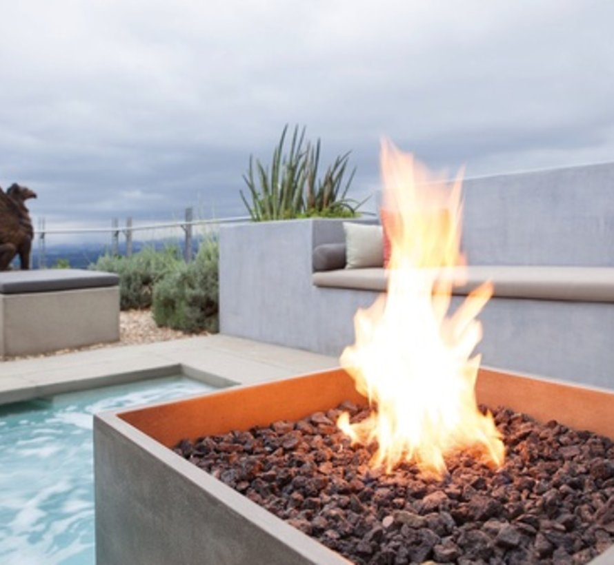 RISE LP/NG / FIRE PIT IN GRAPHITE