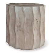SEASONAL LIVING WAVE ACCENT TABLE SHORT SLATE GREY