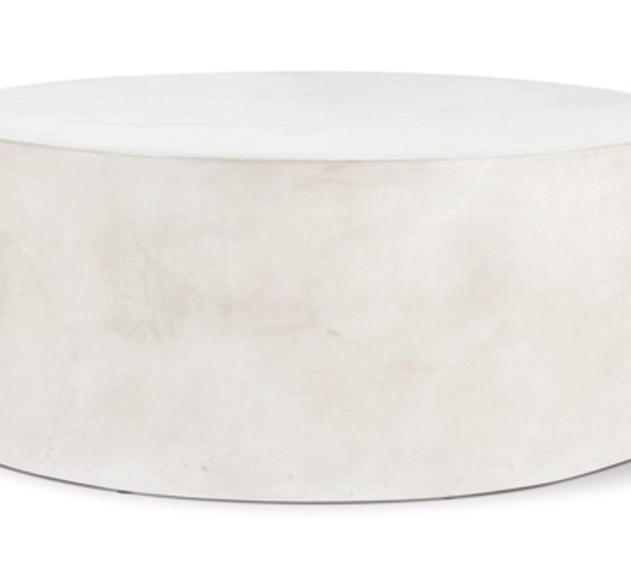 GRAND LOUIE COFFEE TABLE - SLATE IVORY WHITE