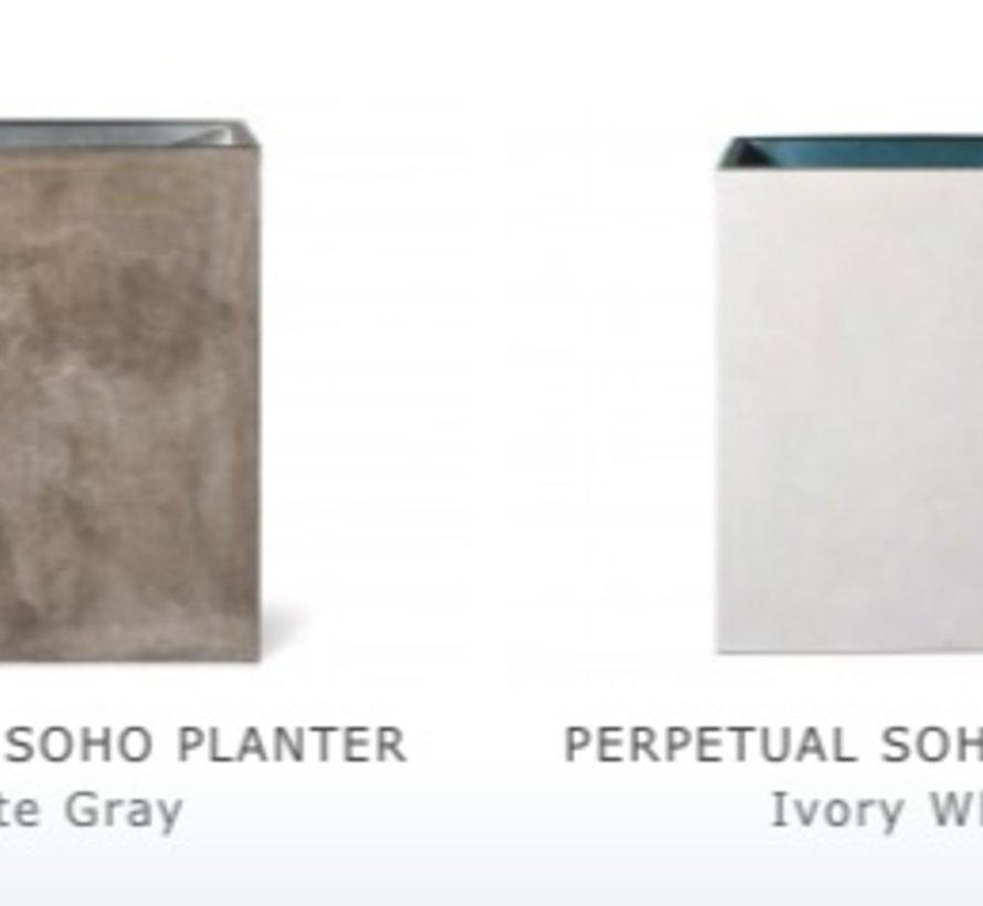 PERPETUAL SOHO PLANTER - SLATE GRAY
