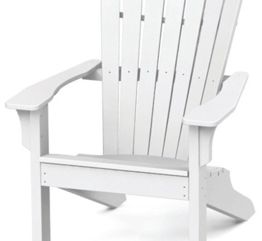 ADIRONDACK SHELLBACK CHAIR - WHITE