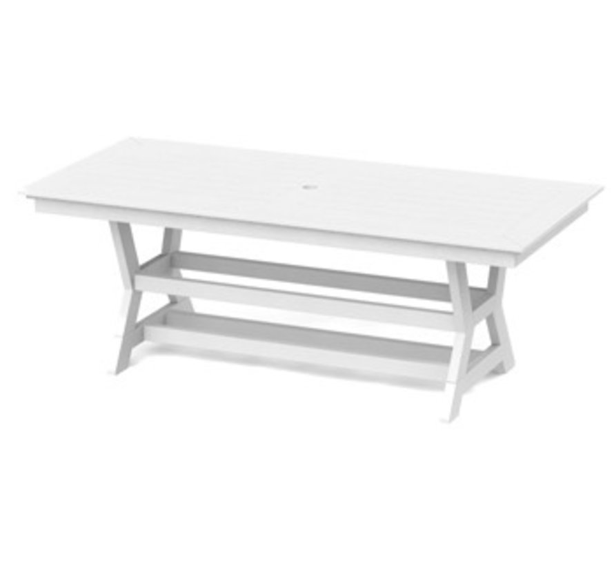 SYM 36 x 80 DINING TABLE - WHITE